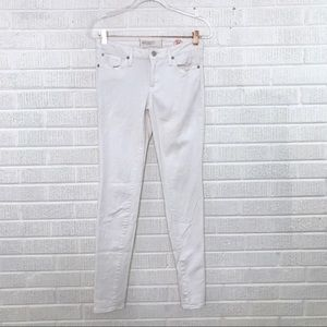 Marc by Marc Jacobs Super Skinny Jeans Off White